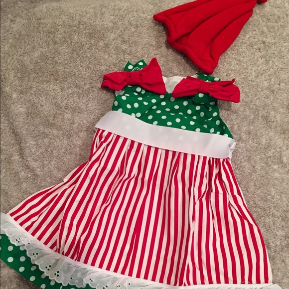 fe362c7e7609 Caught Ya' Lookin Dresses | Nwt 12 M Girl Red Green Christmas Dress ...
